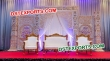 Bollywood  Style Fiber Carved Stage For Marriage