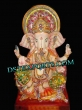 Decorated Ganpati Fiber Statue For Wedding