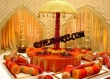 Latest Wedding Mehandi Stage With Umberalas