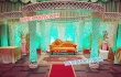 Kite Pillars Crystal Mandap Set