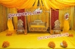 Dream Wedding Mehndi Jhula Set