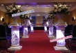Indian Wedding Crystal Decor Pillars
