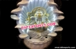 Fiber Ganesha Fountain Statue With Led Lights