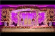 Latest  Colourful Crystal Mandap Set