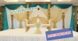 New Design Wooden Pillar  Stage For Marriage