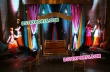 Punjabi Wedding Stage Decoration Swing