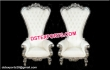 Bollywood Wedding Silver Chairs