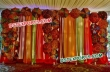 Wedding Stage Backdrop With Umberalas
