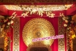Round Backdrop Panel For Wedding Stage