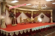 Latest Wedding  Fiber Crystal Stage With Sofa Set