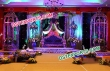 Beautiful Flower Decorated Stage For Wedding