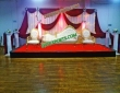 Wedding  Stage  Golden  Italian  Sofa