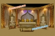Muslim Fabulous Stage Set For Wedding