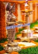 Indian Wedding Deep Lady Welcome Statue