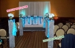 Aislewey Crystal Pillar For Wedding  Decor