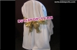 Wedding Chair Cover With Golden Sasha