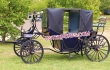 Wedding Horse Drawn Covered Carriage