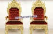 Golden Lion High Back Wedding Chairs