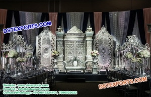 Latest design  English Wedding Stage Decorations
