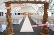Wedding Stylish Wooden Welcome Gate