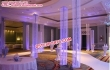 Lighted Crystal Columns For Marriage