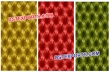 Colourful Button Tufted Leather panels