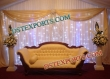 Wooden Carved  Grand  Wedding  Sofa