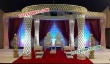 Crystal Mandap With Led Lights For Vivah