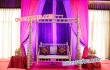 Pearl White Sankheda Wedding Swing