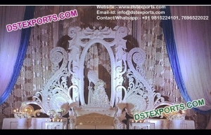 latest Design Wedding Stage Back Frames Walls