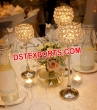 Wedding  Gold  Crystal   Stand