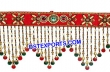 Toran Decorated With Colorful Beads & Crystal