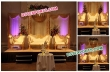 Asian Golden Carved Stage For Marriage