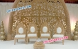 Wedding Wooden Carved Chairs