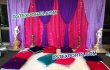 Colourful Backdrop Mehndi Stage