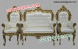 Gold Plated Wedding New Model Furniture