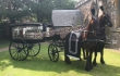 English  Funerel  Horse  Carriage For Sale
