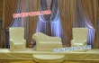 Wedding Crystal Fitted Leather Furniture Set