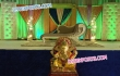 Crystal Fitted Leather Square Backdrop Panels