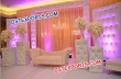 Wedding Tufted Leather Stage Panels With Sofa