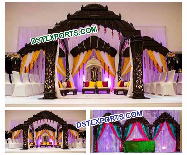 Wedding  Tempel  Mandap Set