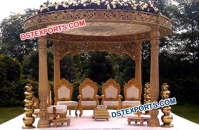 Exclusive Fiber Wedding Mandap