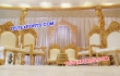 Wooden Carved Mandap Chairs