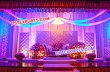 Wedding Stage Paded Backdrop Panels