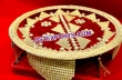 Wedding Shagun Thal Designed With Laces