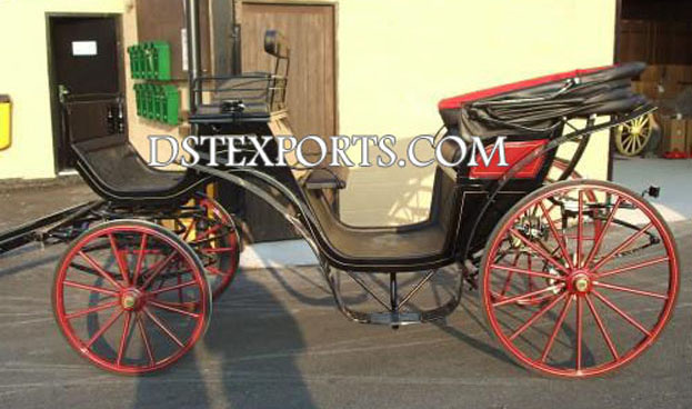 Black  Victoria  Carriage For Sale