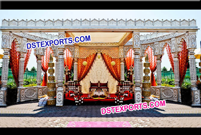Indian Wedding Palace Mandap