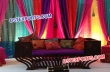 Multi Colour Backdrop Stage With Antique Furniture