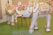 White  Elephant Welcome Statues For Wedding