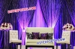 Indian Wedding Decoration Stage With Leather Furniture